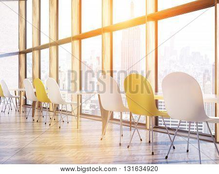 Classroom Interior Sunlight