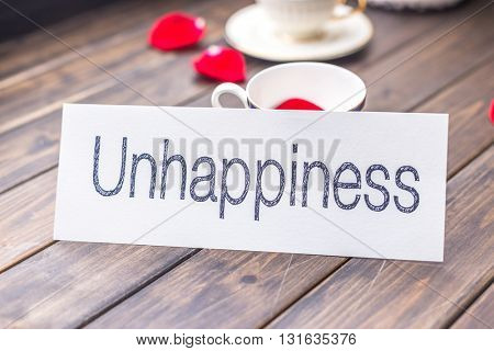 unhappy to happy