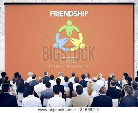 Friendship Team Friend Togetherness Concept