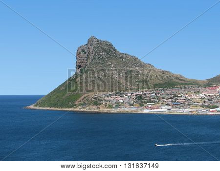 View Of Hout Bay, Calm Waters,  Cape Town South Africa 24
