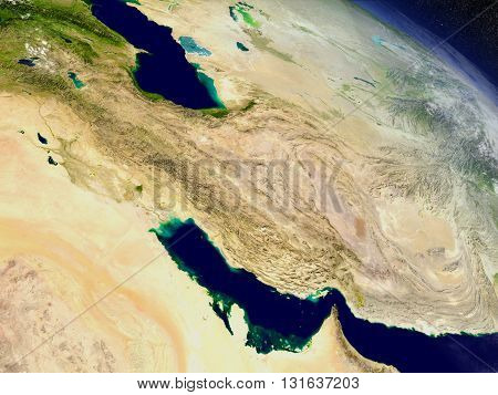 Iran From Space