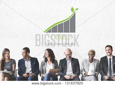 Green Business Environment Ecology Concept