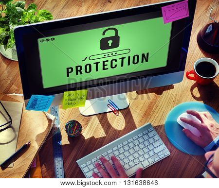 Protection Confidentiality Insurance Privacy Concept