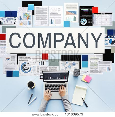 Company Management Structure Team Concept