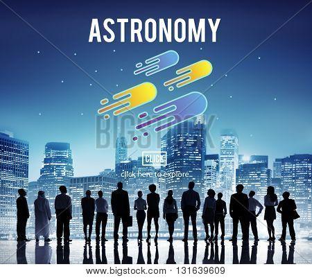 Astronomy Exploration Nebular Concept