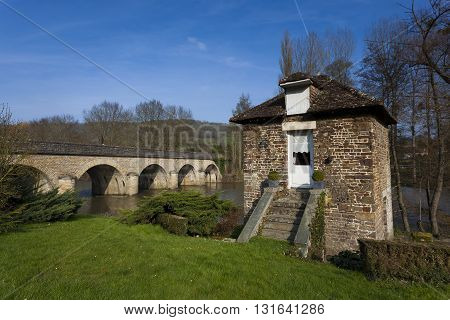 Bridge and Orne River Clecy Swiss Normandy Normandy France