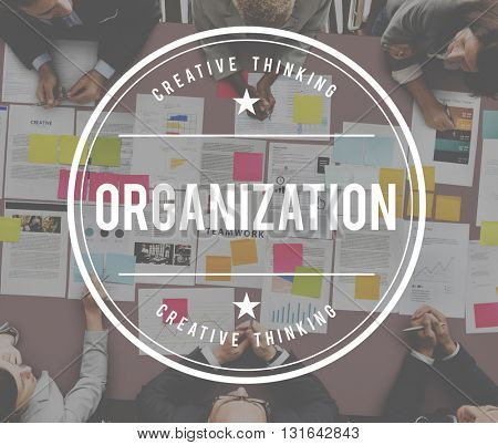 Oraganization Collaboration Company Corporate Concept