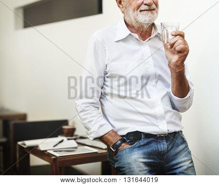 Teacher Teaching Classroom Drinking Concept