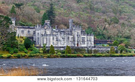 Kylemore abbey the most famous abbey in Ireland