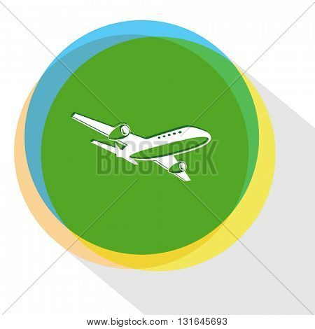 airliner. Vector icon.