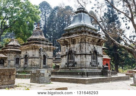 Pashupatinath hindu temples one of the most sacred place in Kathmandu