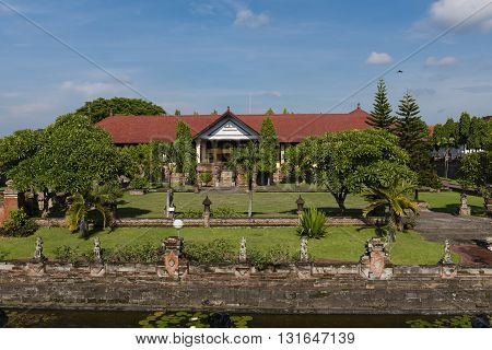 The Museum at the Royal Court of Justice in Bali Indonesia Indonesia