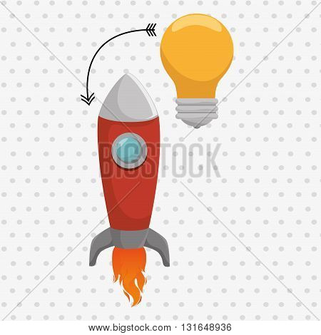 start up business design, vector illustration eps10 graphic