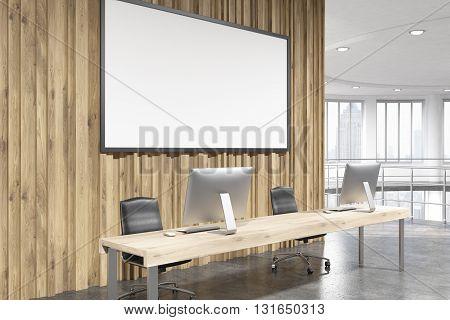 Banner In Office Side