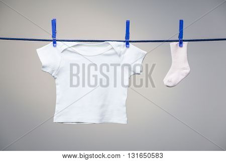 Baby Shirt And Sock