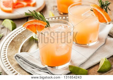 Refreshing Grapefruit And Tequila Palomas