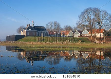 The former island of Schokland was the first UNESCO World Heritage Site in the Netherlands