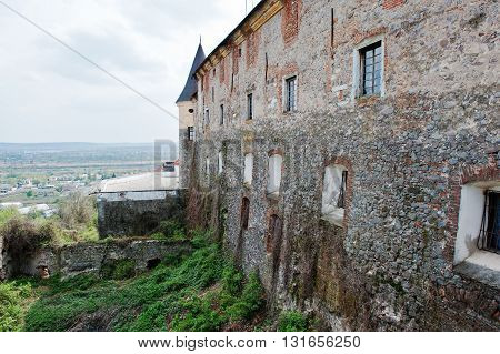 Butt Of Castle Walls Palanok, Mukachevo Transcarpathian, Ukraine
