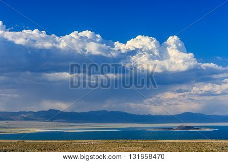 Mono Lake Landscape, California, Usa.