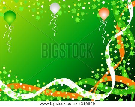 Shamrocks And Balloons