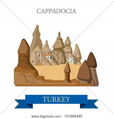 Cappadocia in Turkey attraction tourist attraction landmark