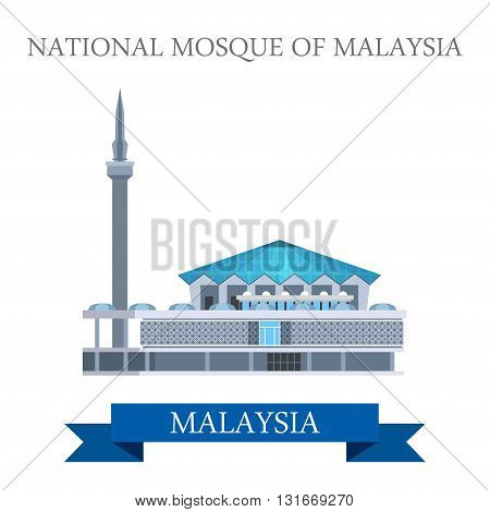 National Mosque of Malaysia attraction travel landmark