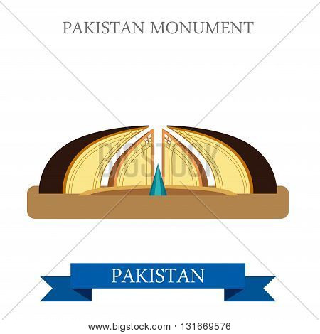 Pakistan Monument Islamabad vector attraction travel landmark