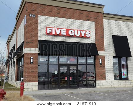 Five Guys South Ann Arbor Store