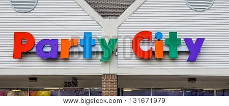 Party City Ann Arbor Store Logo