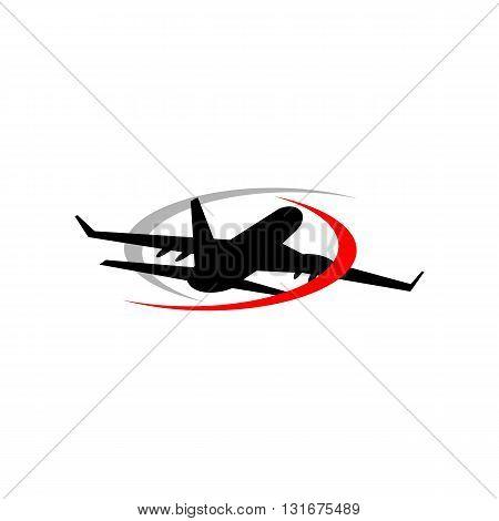 Design logo Travel Plane flight flying design