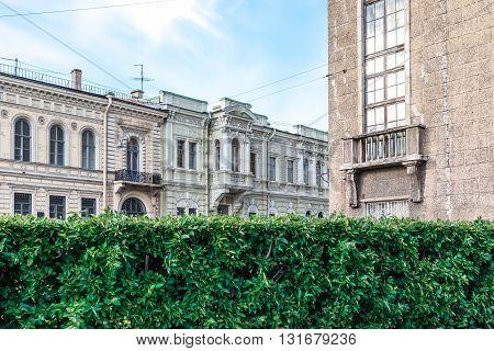 Facades Of St. Petersburg