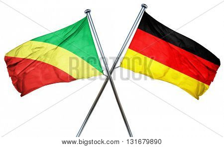 Congo flag  combined with germany flag
