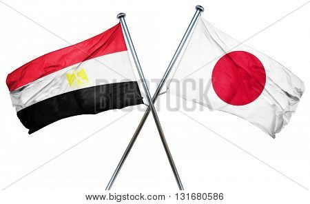 Egypt flag  combined with japan flag