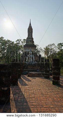 Buddha Statue In Skuhothai