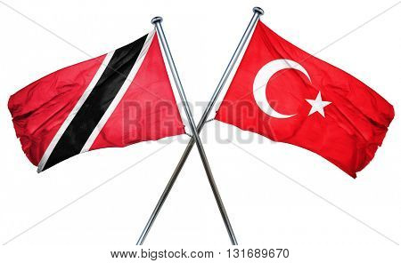 Trinidad and tobago flag  combined with turkey flag