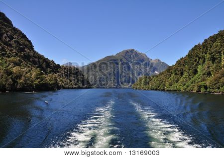 Doubtful Sound, Fiordland, New Zealand