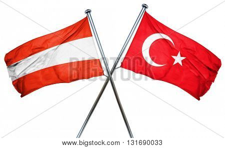 Austria flag  combined with turkey flag