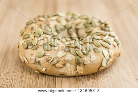 Wholemeal Bagels (selective Focus)