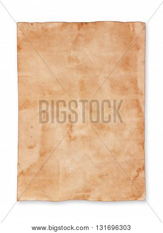 The old paper sheet background. pattern background