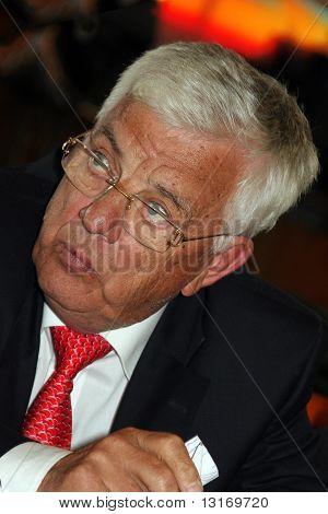 Latvian composer and politician Raimonds Pauls