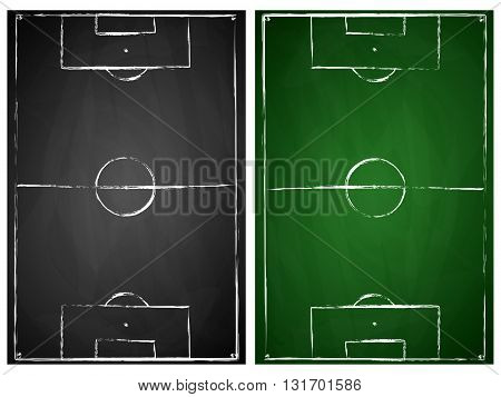 abstract gray and green black board soccer field backgrounds