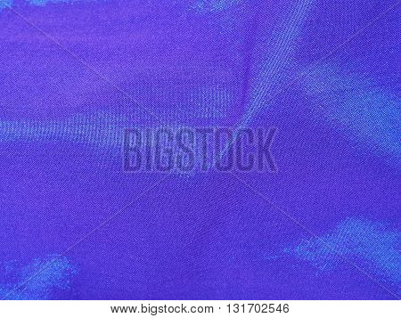 Elegant blue background from local Thai silk. Luxury sequin blue background.