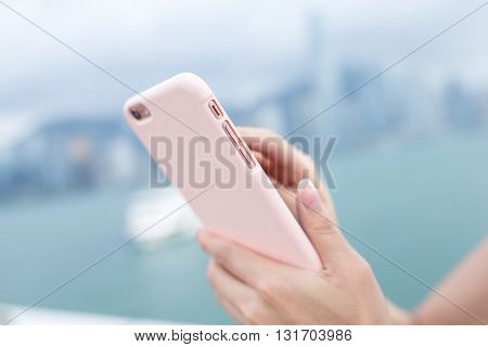 Woma send sms on mobile phone