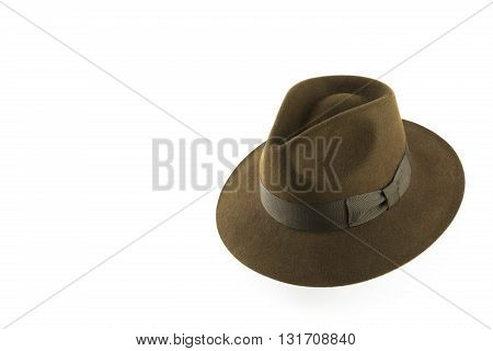 portrait of a old - vintage style hat