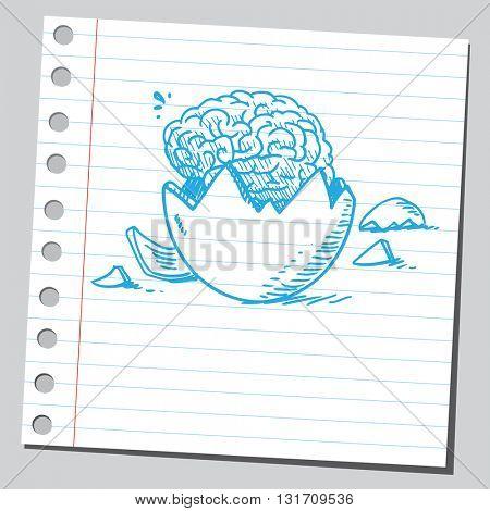 Brain from egg