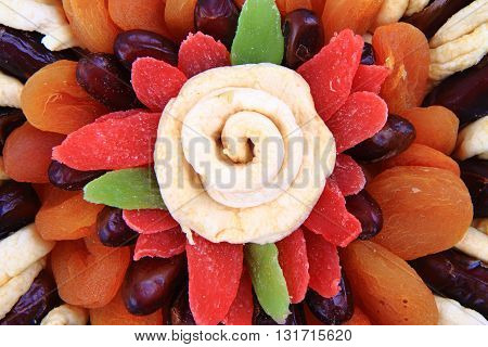 Dried Color Fruits