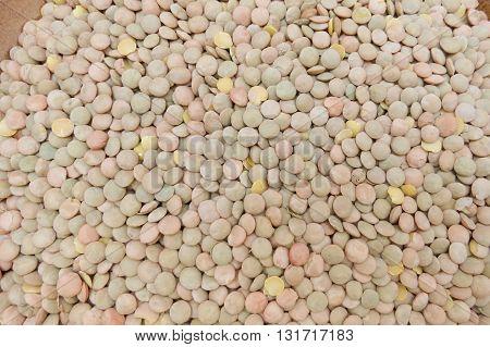 Lentils pulse vegetables vegan food useful as background