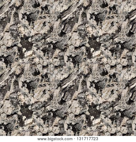 seamless texture the ashes of burnt wood coals BBQ facilities background for print or website design