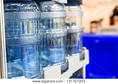 Large water bottles