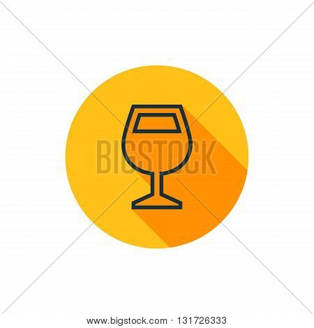 Vector Wine Glass Icon